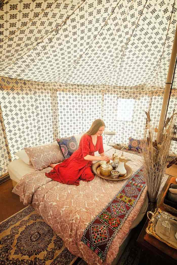Going Glamping in Oman is one of the most memorable things you can do