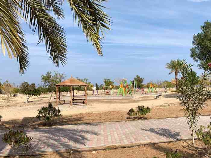 Playground at Bimmah Sinkhole