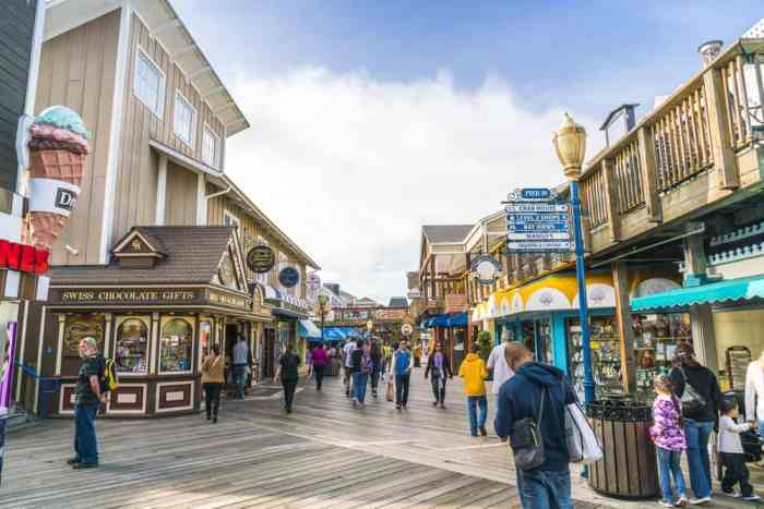 Fishermans Wharf is a classic thing you must see in San Francisco