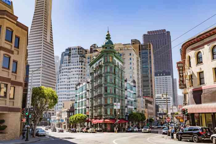 Visit Little Italy in North Beach in San Francisco