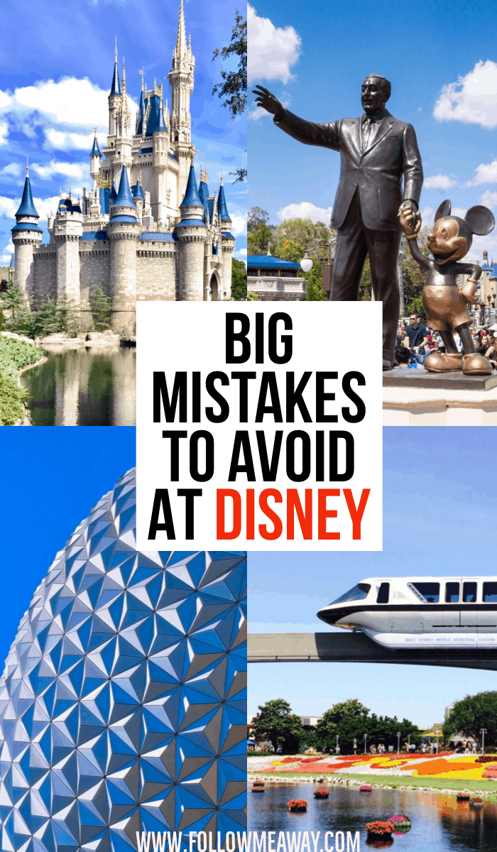 Big Mistakes To Avoid When Planning A Trip To Disney