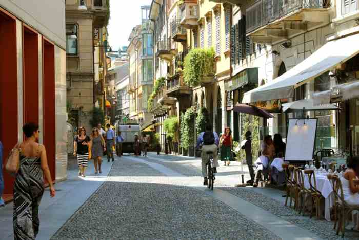 The Brera District is perfect place to go on your one day in Milan