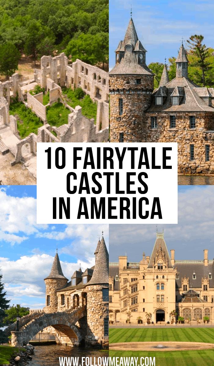 10 fairytale castles in america