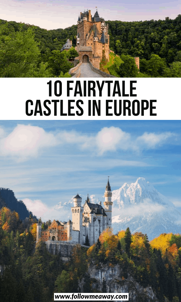 10 fairytale castles in europe