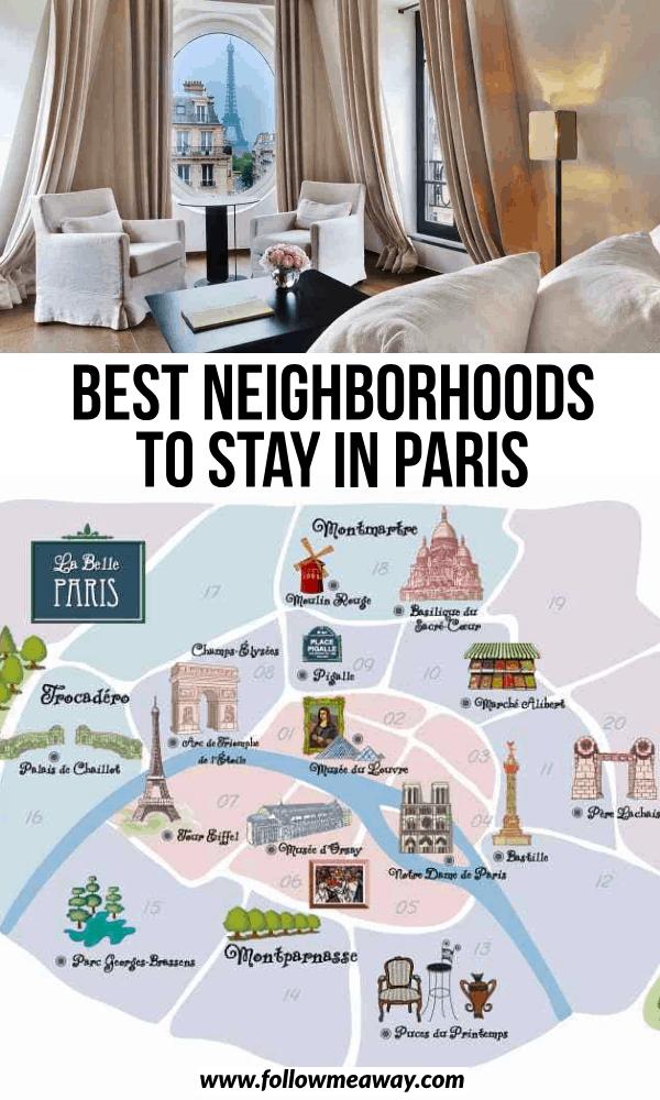 best neighborhoods to stay in paris