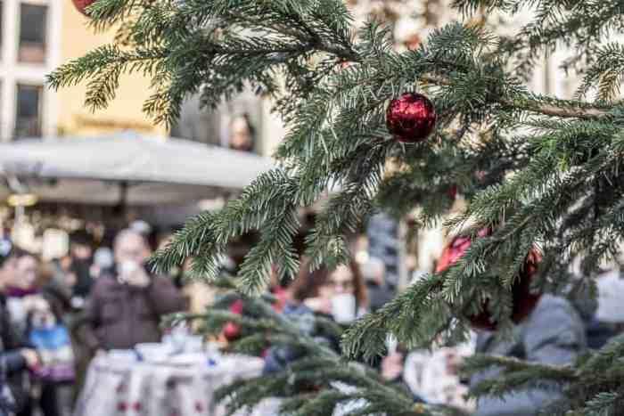 A pesar de su visión única de los mercados navideños, las velas en Candelara también rinden homenaje a los elementos navideños tradicionales.