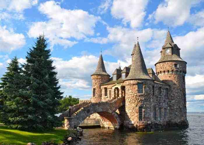 Boldt Castle is one of the prettiest castles in America