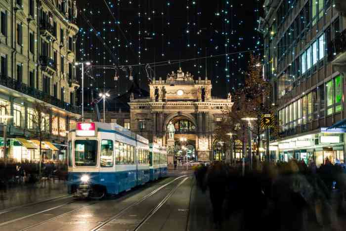 You can stroll down the streets of the the Weihnachtsmarkt Im Dörfli Christmas Market