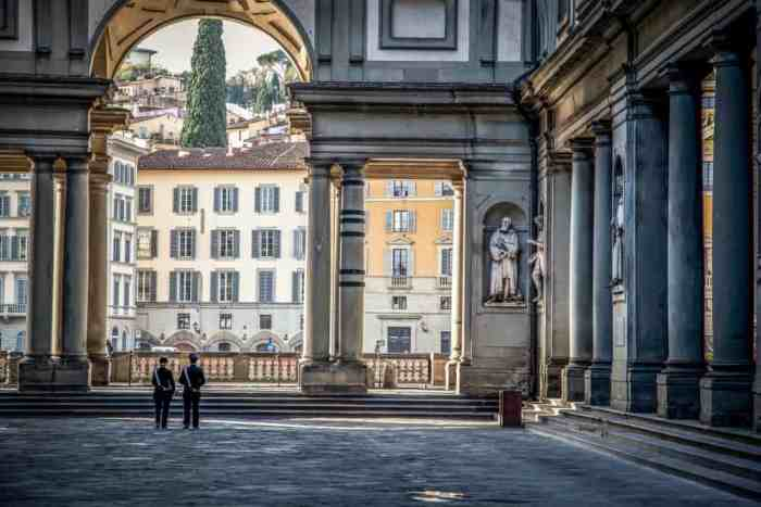 Your one day in Florence won't be complete unless you visit the Uffizi Palace and Gallery