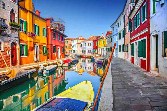 burano is a gorgeous photo spot during one day in venice