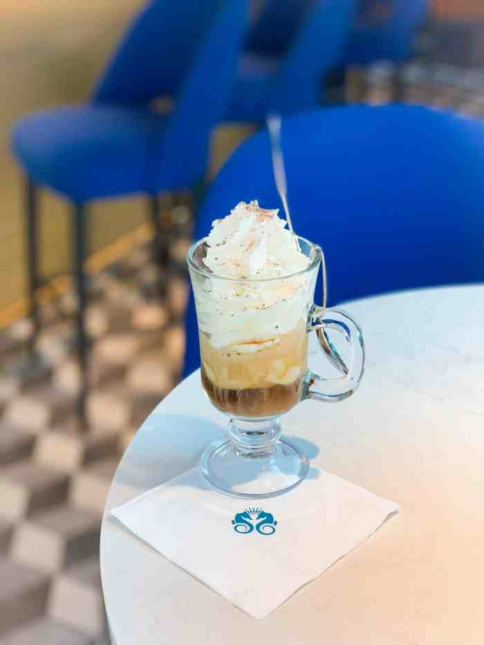 Vienna Iced Coffee On crystal river cruises