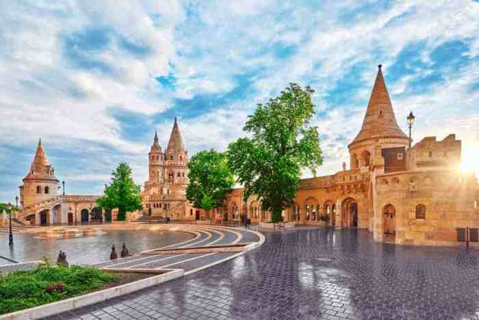 Gorgeous viewpoints from Fisherman's Bastion