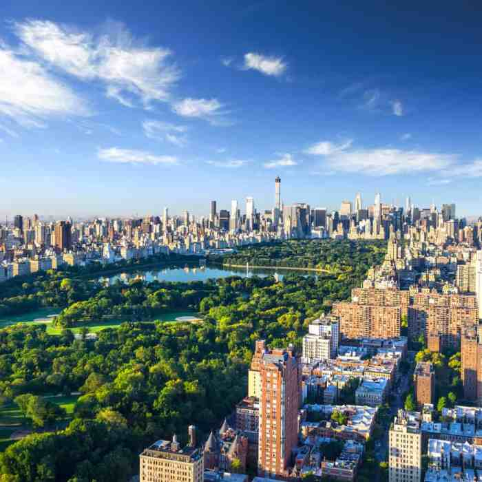 A lovely view of Central Park, a wonderful spot to visit when trying to see New York in a day.