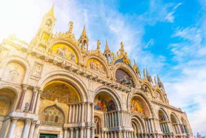 During your visit to Venice in Winter stop by Saint Mark's Basilica with smaller crowds