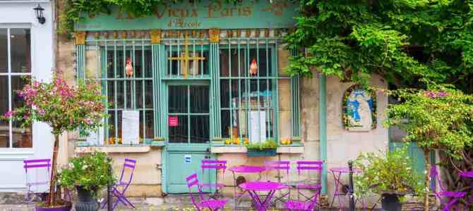 10 Of The Prettiest Cafes In Paris + Map To Find Them