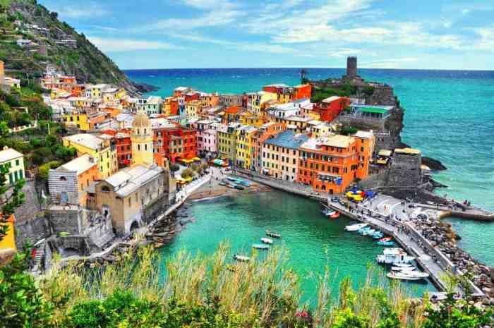 Vernazza is one of the best places to stay In Cinque Terre