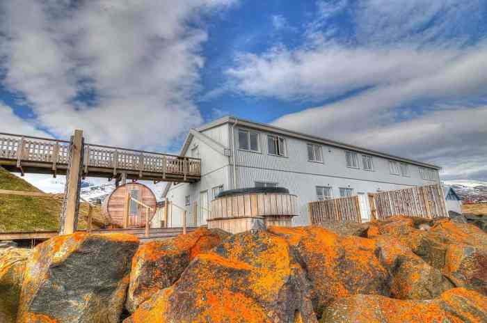 Blabjorg Guesthouse is where to stay in Iceland on the East Coast
