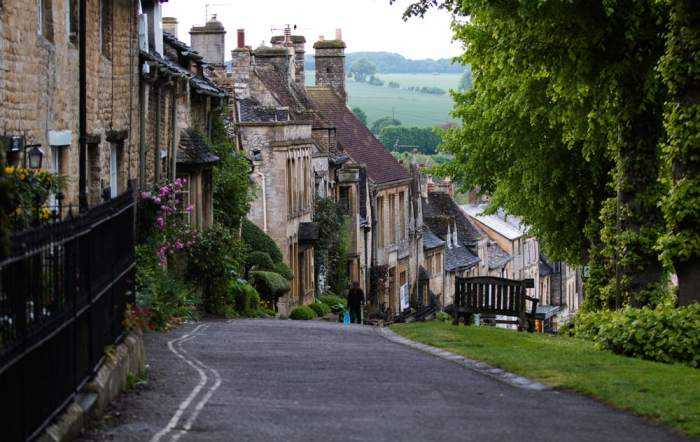 Burford is known for its medieval architecture and vibe in the Cotswolds Villages!