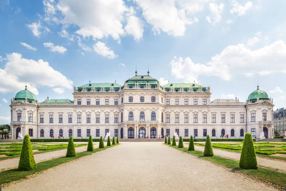 Learn more about where to stay in Vienna by the incredible Belvedere Palace