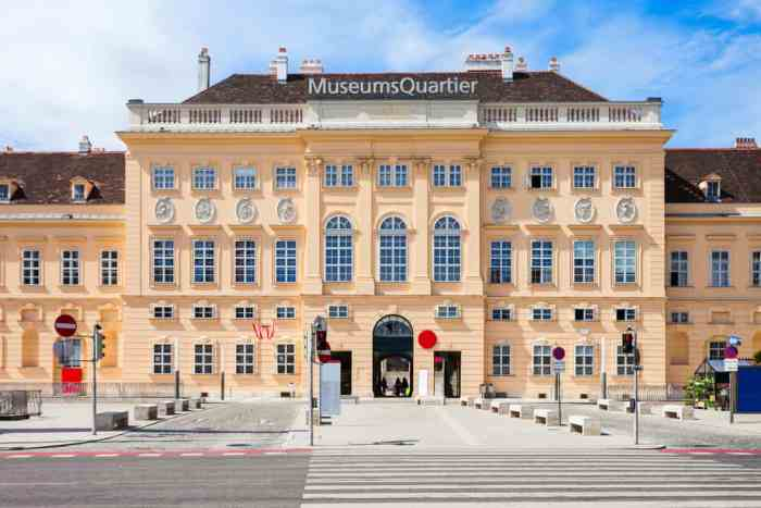 Research where to stay in Vienna to be close to the fun MuseumsQuartier in Neubau