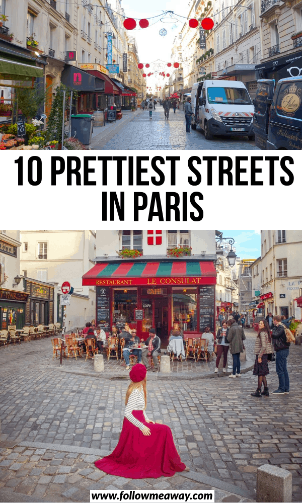 10 prettiest streets in paris