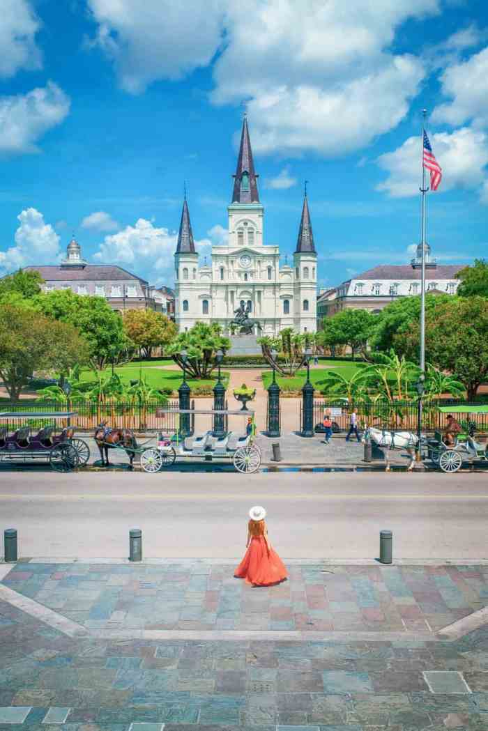 Jackson square the heart of your 3 days in New Orleans itinerary