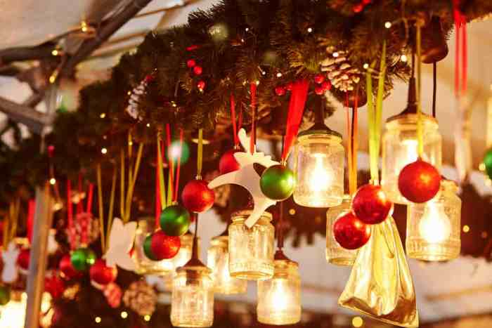Enjoy the magical Christmas market at Les Halles