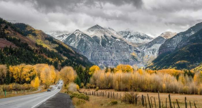 drive to Telluride as part of your Colorado road trip