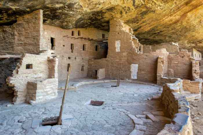visit Spruce Tree House at Mesa Verde National Park on your Colorado road trip