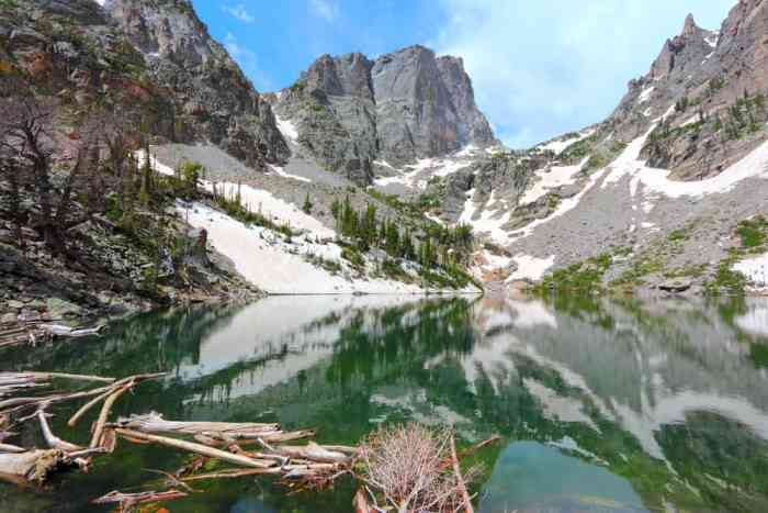 see the beautiful Emerald Lake at Rocky Mountain National Park on your Colorado road trip