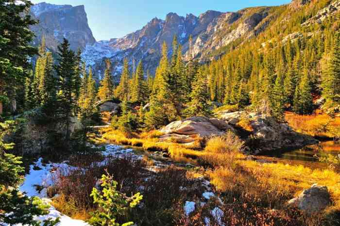 take a hike in Rocky Mountain National Park on your Colorado road trip