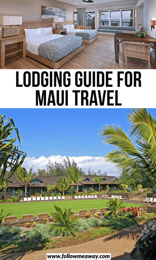 lodging guide for maui travel