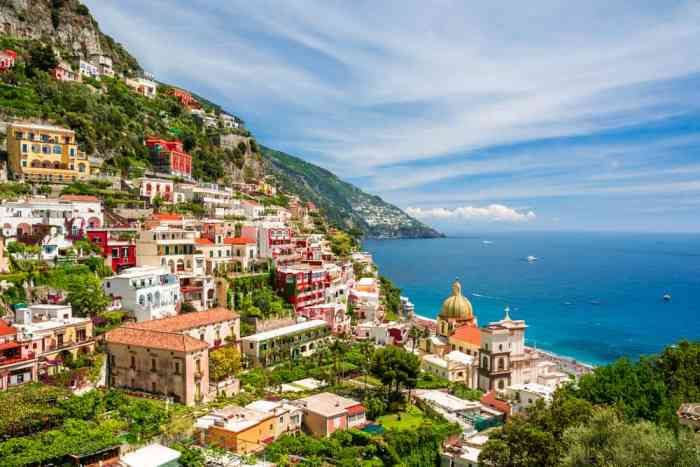 small town in italy on the coast