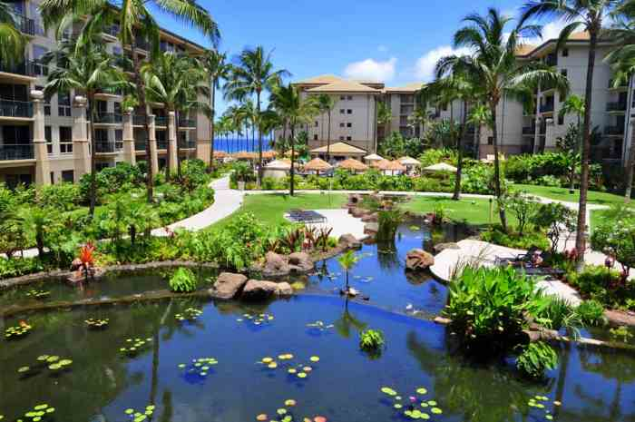 the numerous resorts are where to stay in maui