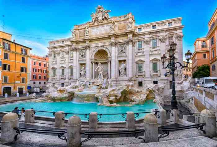 Trevi Fountain 4 days in Rome