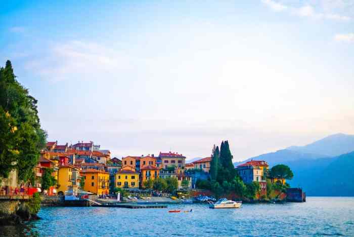 Lake Como is one of the lakes in Italy to enjoy an indulgent trip