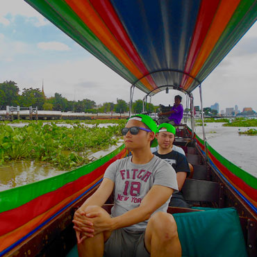 Bangkok bike tours with Follow Me. cycle Bangkok in style