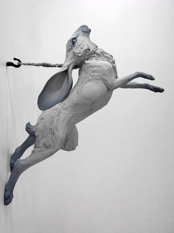 Beth Cavener Stichter Rabbit Sculpture