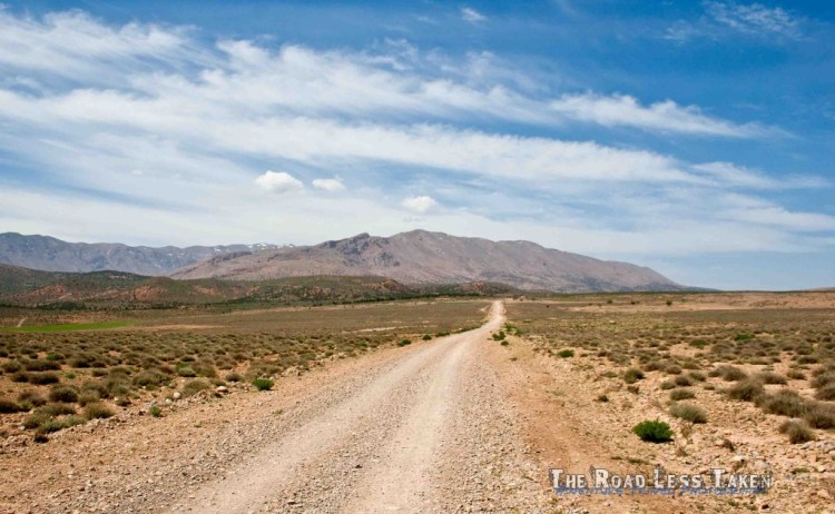 Atlas mountains offroad tracks