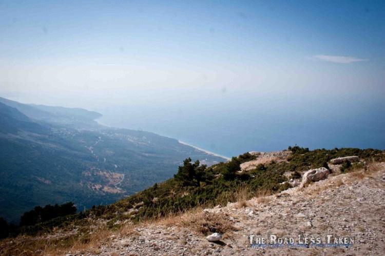 Albania's coastal roads