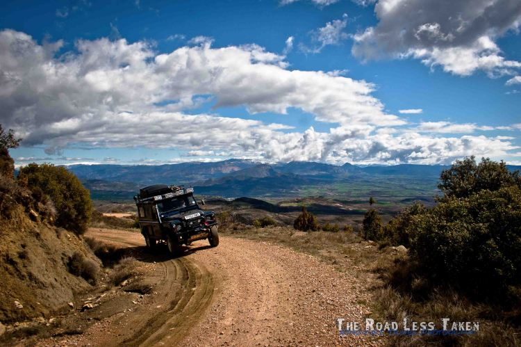 Pyrenees offroad 4x4