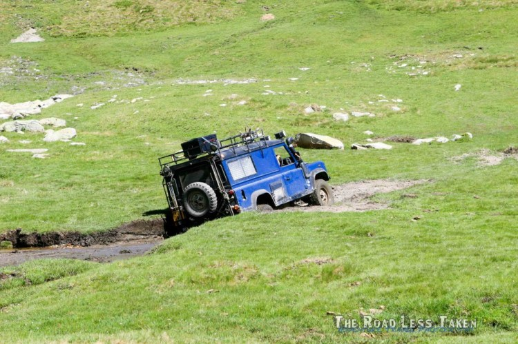 Land Rover offroad Andorra