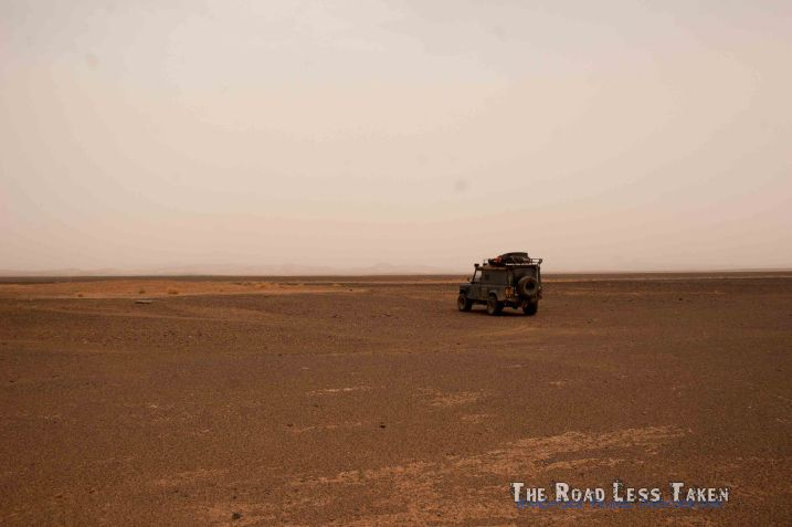 Rocky Saharan Wastleland