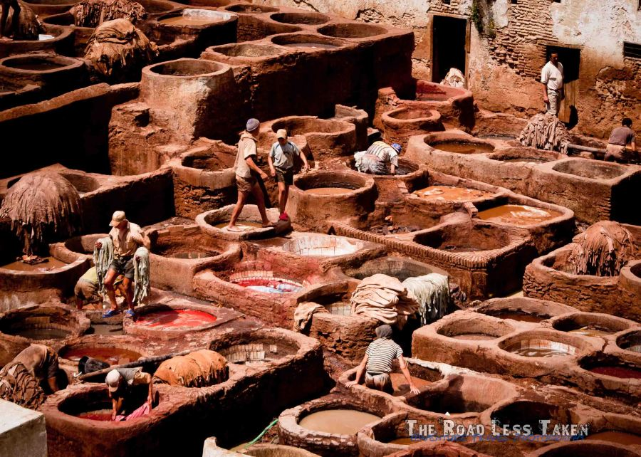 Fes Tannery, Morocco