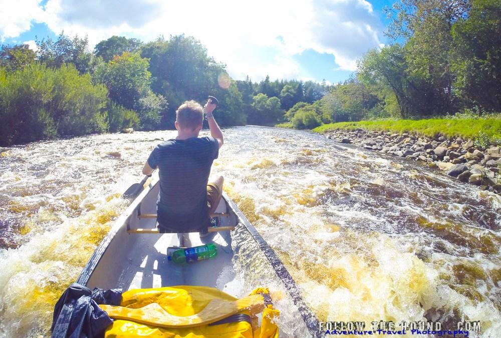 Canoe Microadventure on the River Esk