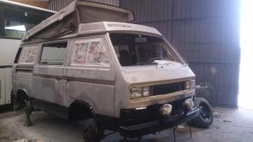 Restoring a VW Syncro Vanagon