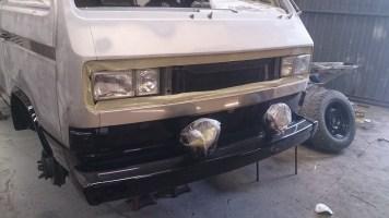 Restore VW Syncro Bonnet