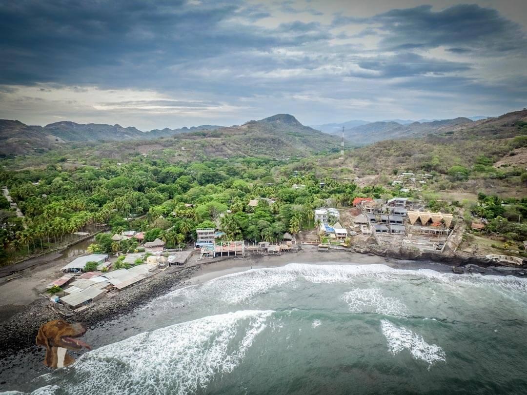 El Zonte Coastline El Salvador