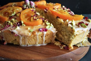 Hallabong Orange Persian Love Cake
