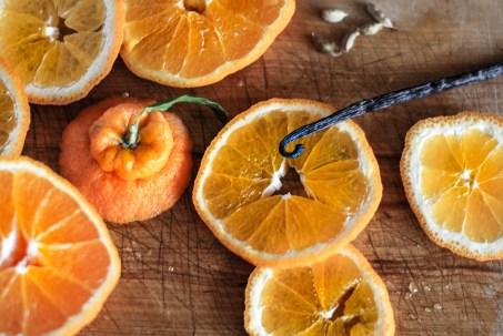 Hallabong Orange Persian Love Cake